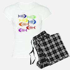 Tropical Fish Bones Pajamas
