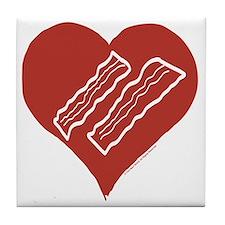 Love Bacon? Tile Coaster