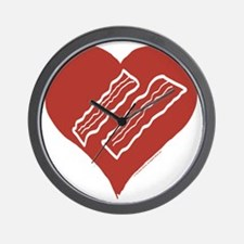 Love Bacon? Wall Clock