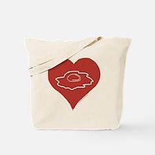Love - Eggs Tote Bag