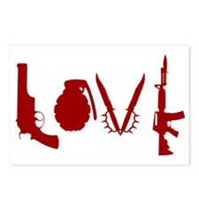 WeaponLove Postcards (Package of 8)