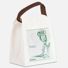 John Henry Cartoon Character Sket Canvas Lunch Bag