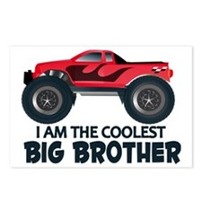 Coolest Big Brother - Tru Postcards (Package of 8)