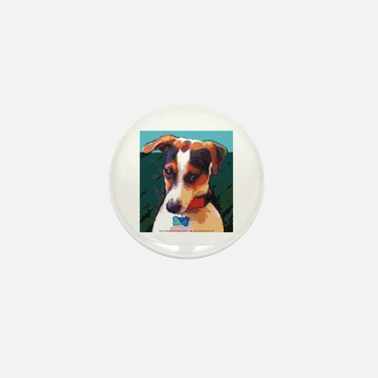 Bad Boy Jack Russell Mini Button
