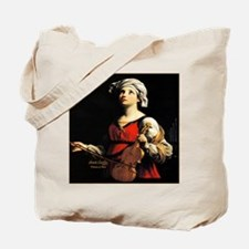 Saint Cecilia Patroness of Music Tote Bag