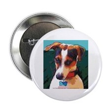 """Bad Boy Jack Russell 2.25"""" Button"""
