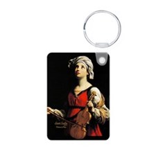 Saint Cecilia Patroness of Keychains