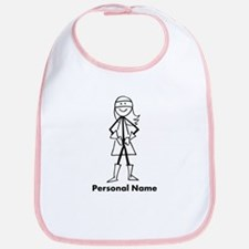 Personalized Super Girl Bib