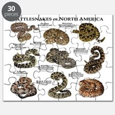 Rattlesnakes of North America Puzzle