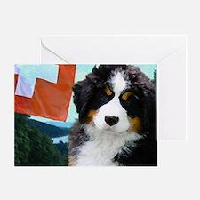 Berner Sennenhunde Greeting Card