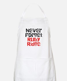 Never Forget Ruby Ridge BBQ Apron