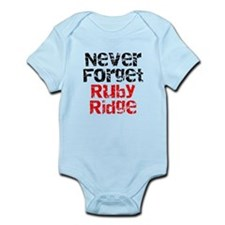 Never Forget Ruby Ridge Infant Bodysuit