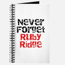 Never Forget Ruby Ridge Journal