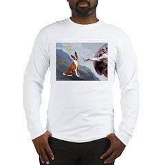 Creation of the Basenji Long Sleeve T-Shirt