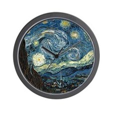 Olive Trees by Vincent van Gogh. Wall Clock