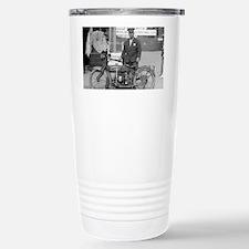 Motorcycle Police Offic Travel Mug