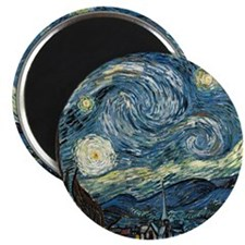 Olive Trees by Vincent van Gogh. Magnets