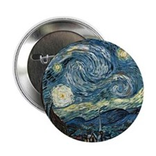 "Olive Trees by Vincent van Gogh. 2.25"" Button"