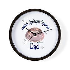 Welsh Springer Dad Wall Clock