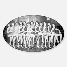 Showgirls Sticker (Oval)