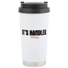 It's Handled Stainless Steel Travel Mug