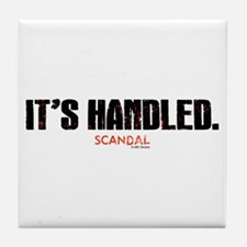 It's Handled Tile Coaster