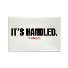 It's Handled Rectangle Magnet