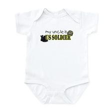 My Uncle is a US Soldier Infant Bodysuit