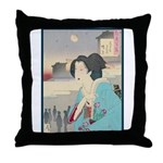 Japanese Art Throw Pillow