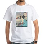 Japanese Art White T-Shirt