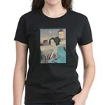 Japanese Art Women's Dark T-Shirt
