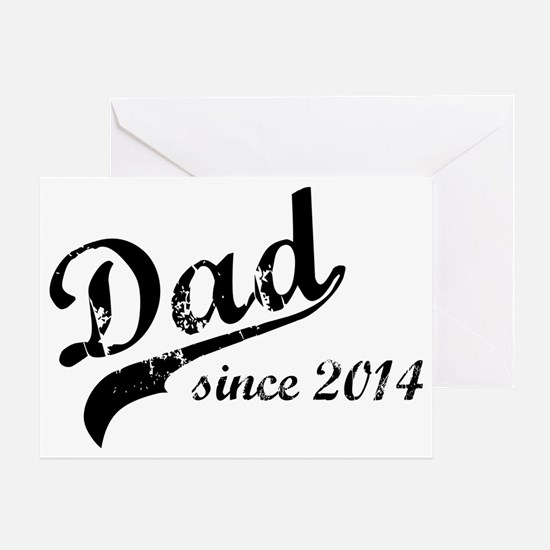 dad2014 Greeting Card