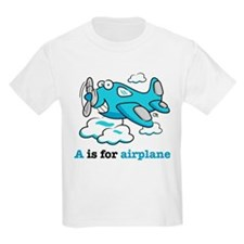 A is for Airplane T-Shirt