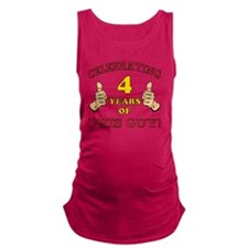 Funny 4th Birthday For Boys Maternity Tank Top