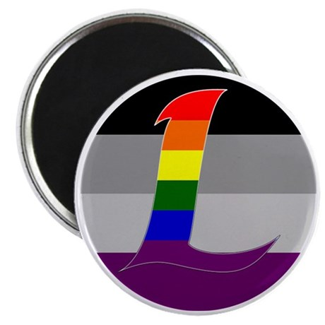 Homoromantic Asexual #2 Magnet