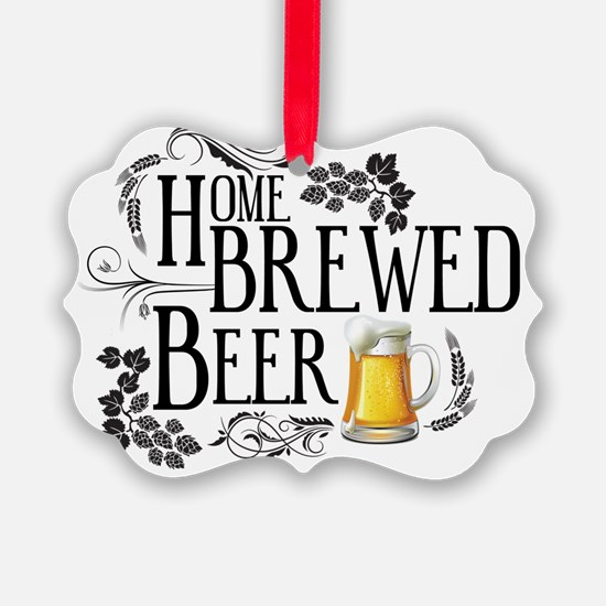 Home Brewed Beer Ornament