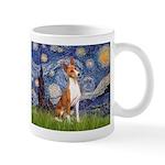 Starry Night & Basenji Mug