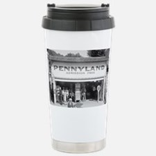 Pennyland Arcade Stainless Steel Travel Mug