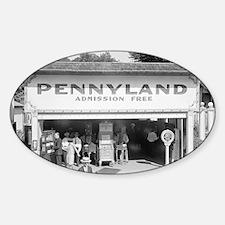 Pennyland Arcade Decal