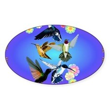 For The Love Of Hummingbirds Decal