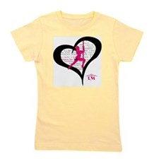 LM Dancer Heart Girl's Tee