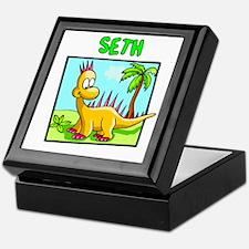 Seth Dinosaur Keepsake Box