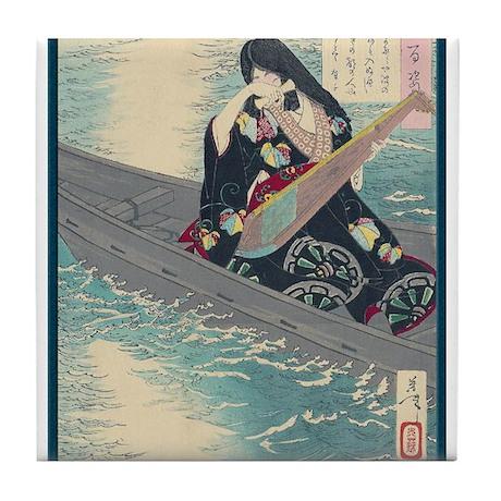 Japanese Art Tile Coaster
