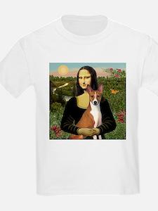 Mona Lisa - Basenji T-Shirt