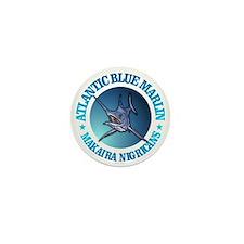 Blue Marlin Mini Button