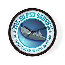 Silent Service Wall Clock