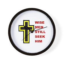WISE MEN Wall Clock