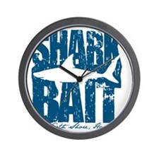 Shark Bait Wall Clock