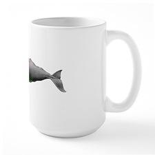 Whale Map Mug