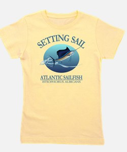 Setting Sail Girl's Tee